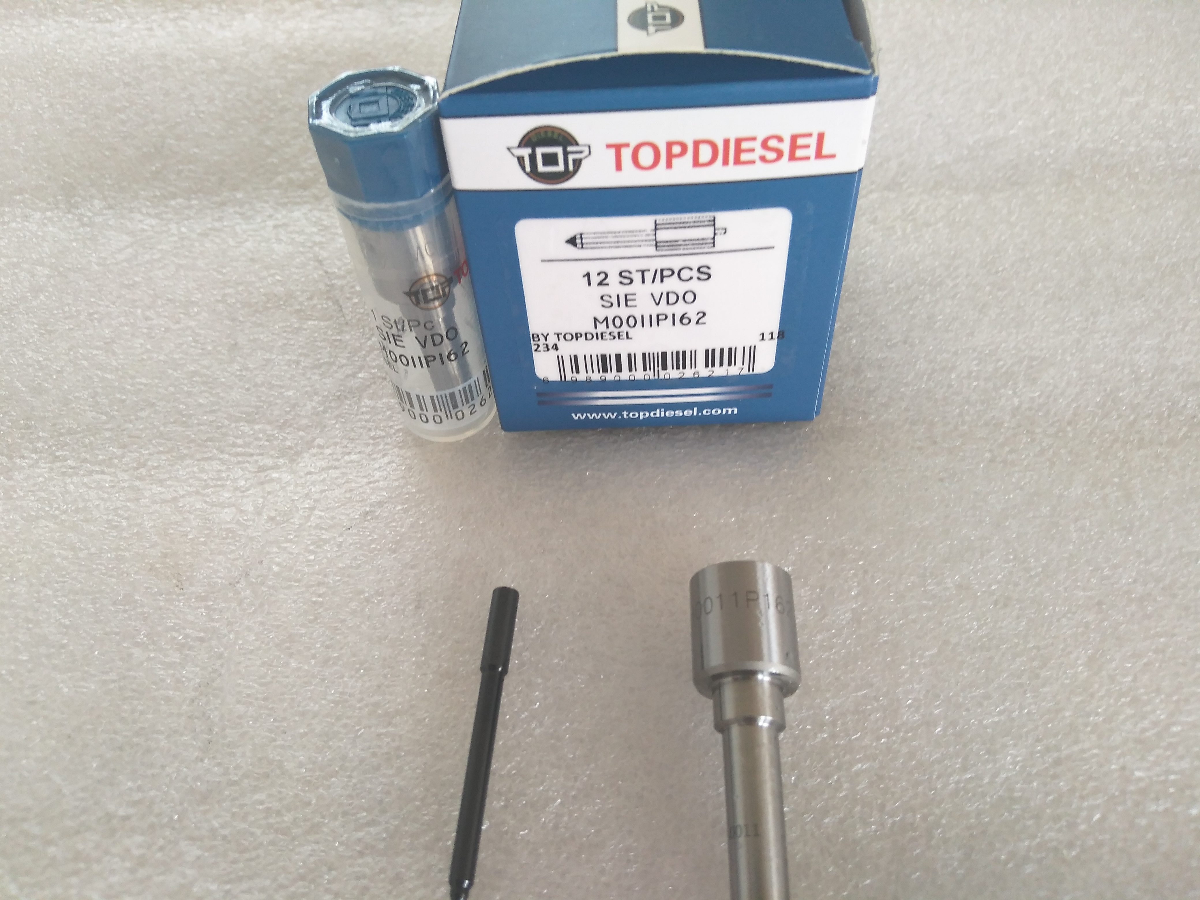 Topdiesel Common Rail Injector Nozzle M0011P162 for Injector (5WS40539) A2C59513554