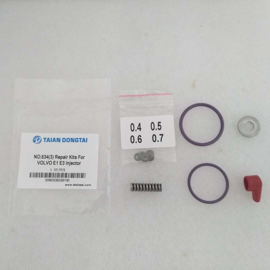 NO.634(3)REPAIR KIT FOR VOLVO E1 E3 INJECTOR